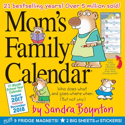 busy mom planner 2018